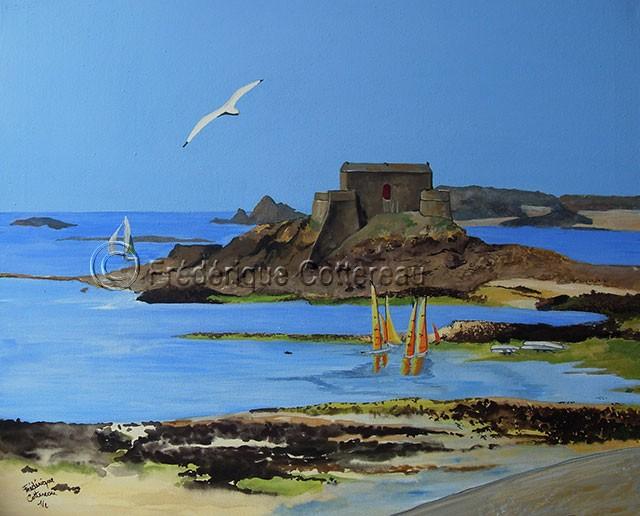 Goëland de Saint-Malo (dyptique)