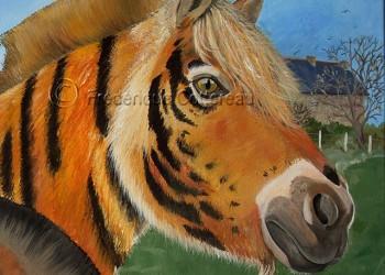 Tigrement equestre